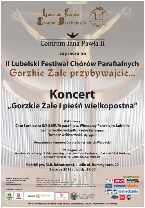 maly Plakat koncert 3 marca 2013