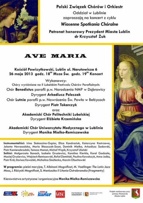 Ave Maria 2013