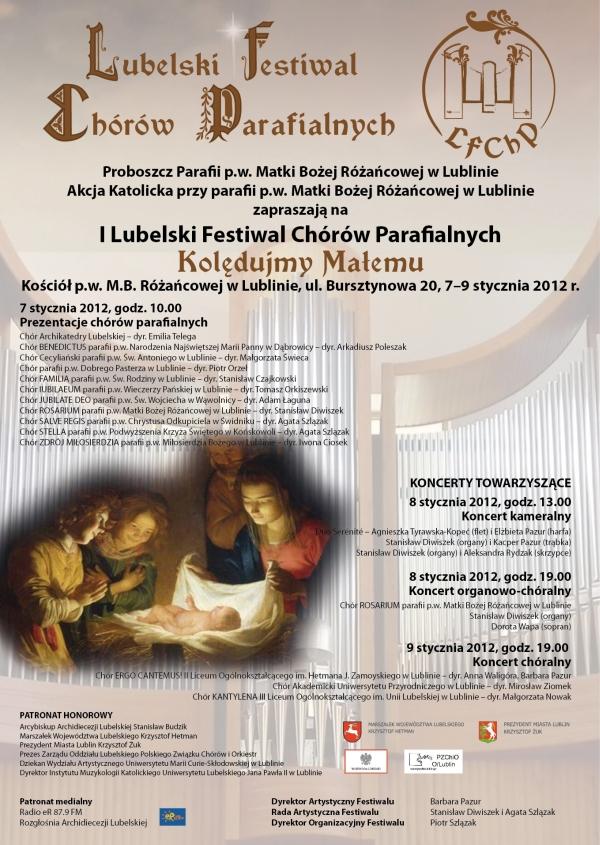plakat Festiwalu 2012-m