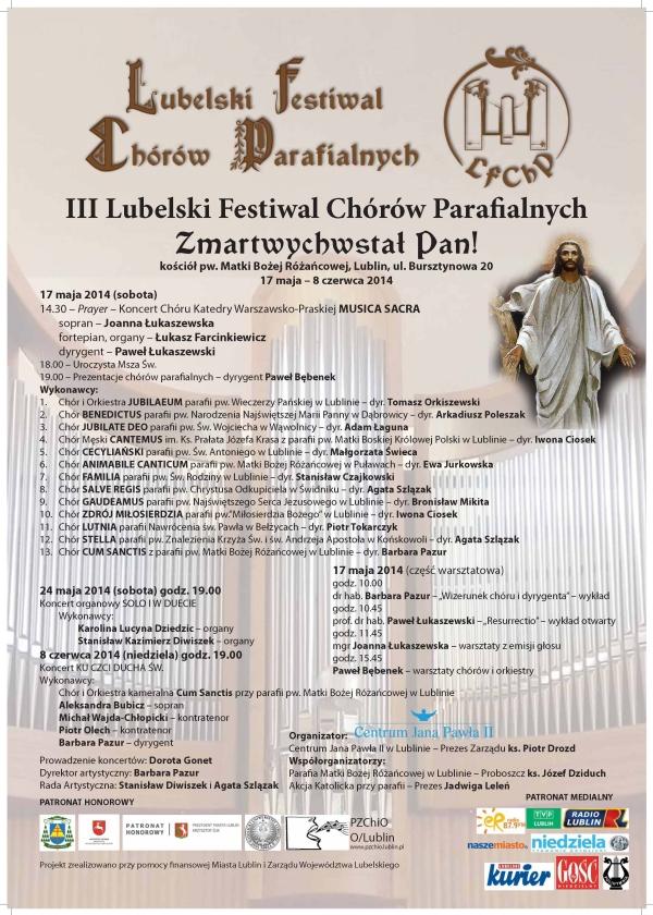 plakat festiwalu 2014-m